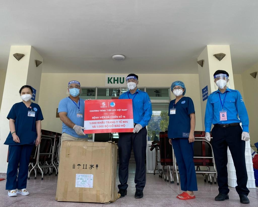 HCM_Chương trình Tiếp sức VN trao tặng Máy thở và Vật phẩm hỗ trợ cho Bệnh viện Nhiệt đới 2