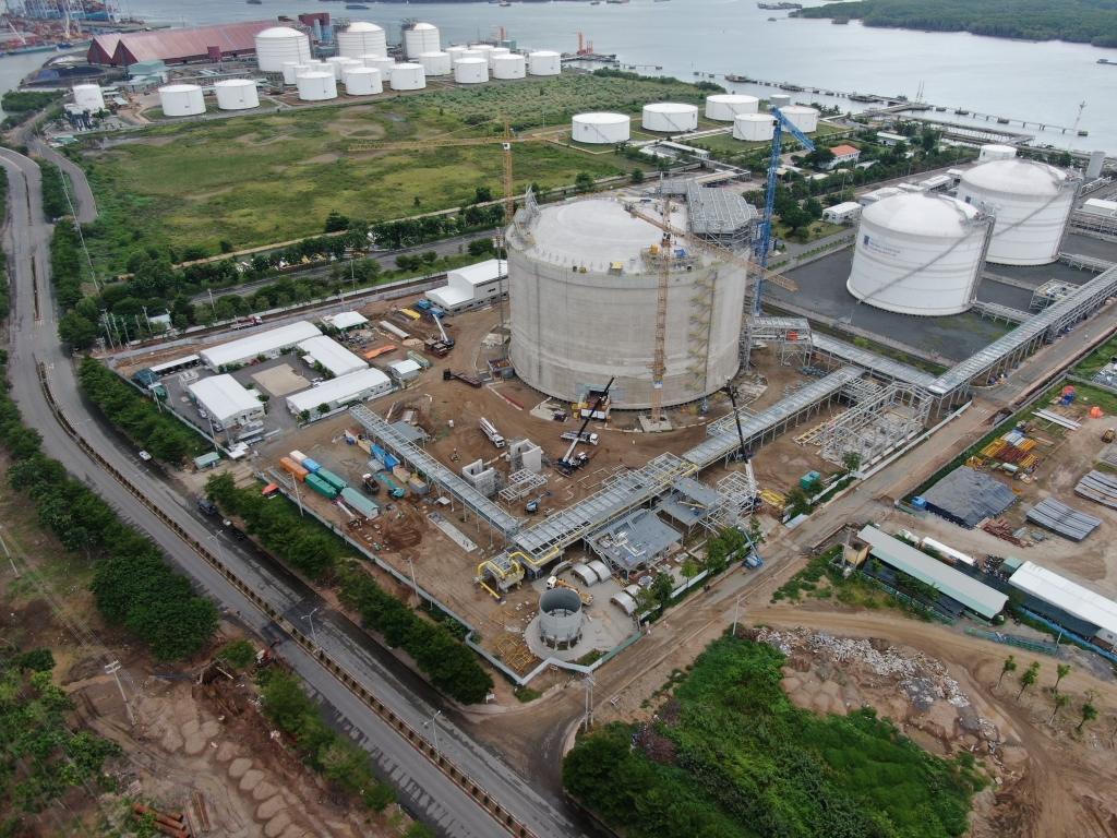 Kho cảng PV GAS Vũng Tàu vẫn giữ nhịp độ SXKD, đầu tư xây dựng trong điều kiện phòng chống dịch bệnh