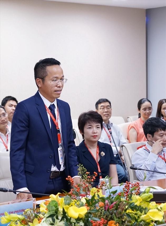 đồng chí Nguyễn Văn Bé Ba – Giám đốc Công ty Khí Cà Mau
