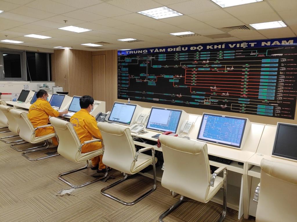 Trung tâm SCADA Điều độ Khí Việt Nam thực hiện quy định an toàn vùng Zone 0