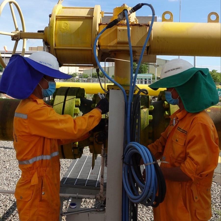 Tiếp tục thực hiện Bảo dưỡng sửa chữa trong mùa dịch bệnh, đảm bảo cung cấp nguồn khí cho yêu cầu phát triển năng lượng