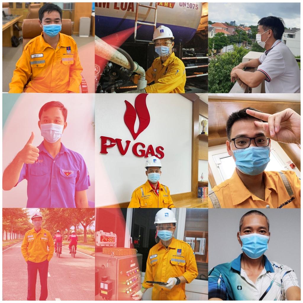 NLĐ PV GAS được truyền lửa, động viên tinh thần sẵn sàng lao động vượt qua khó khăn