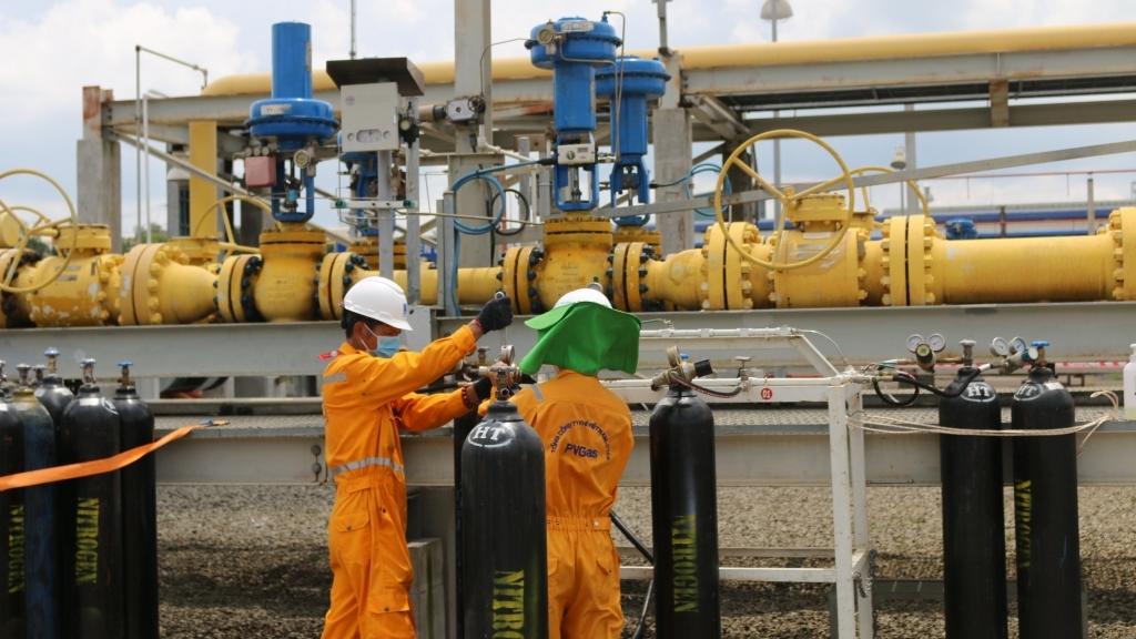 Công ty Vận chuyển Khí Đông Nam bộ hoàn thành vượt tiến độ BDSC 2021