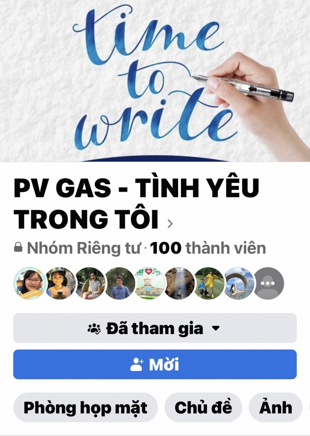 Công đoàn CQĐH PV GAS  tổ chức cuộc thi viết