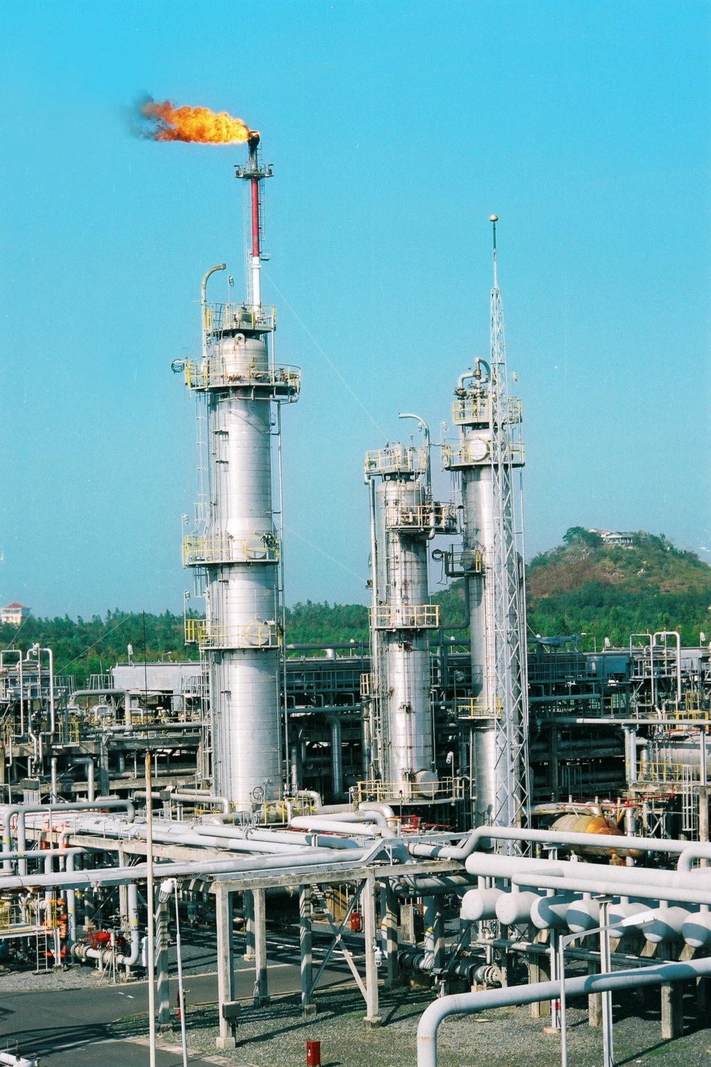Ngọn đuốc khí GPP Dinh Cố sẽ là một phần việc BDSC 2021