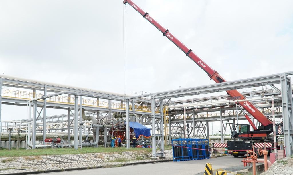 Hệ thống khí Nam Côn Sơn 1 vừa hoàn thành BDSC lớn 2021