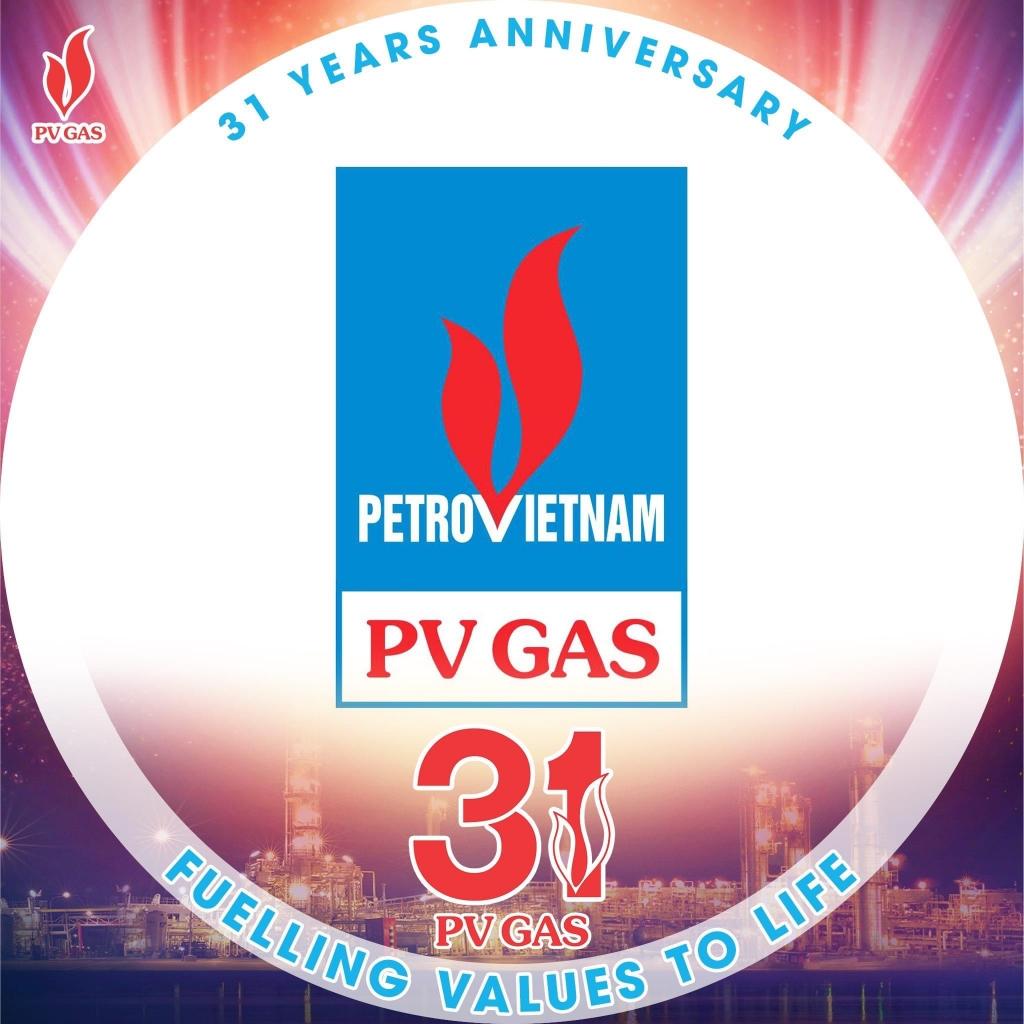 """Đoàn TN PV GAS kêu gọi đổi facebook avatar """"Chào mừng kỷ niệm 31 năm thành lập PV GAS"""""""