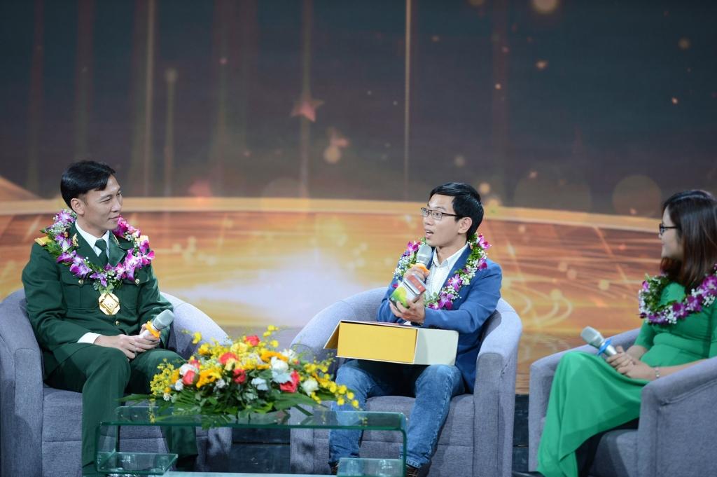 Gương mặt trẻ Việt Nam các thời kỳ giao lưu tại chương trình