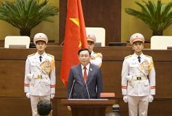 Ông Vương Đình Huệ chính thức làm Chủ tịch Quốc hội