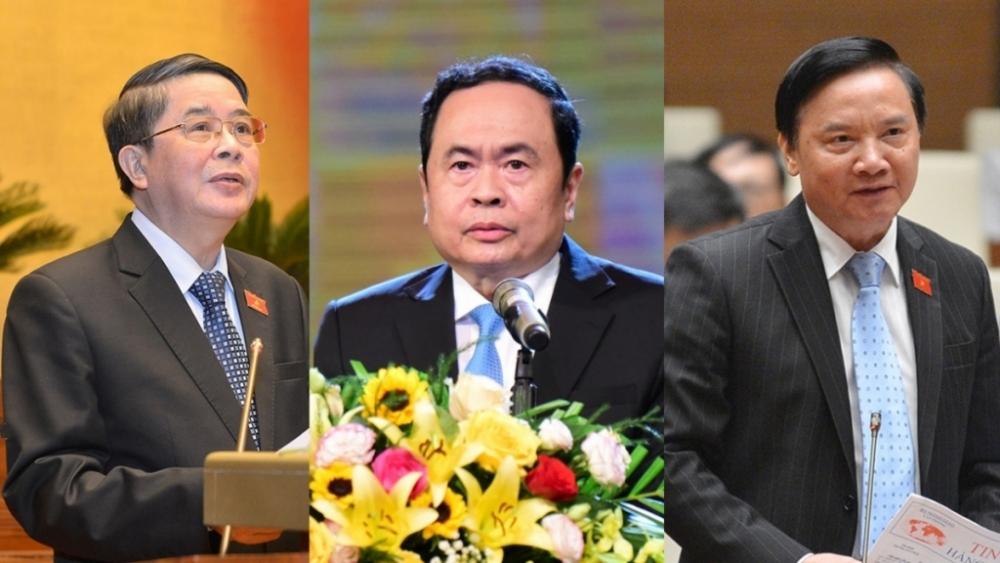 Quốc hội thông qua bầu 3 Phó Chủ tịch Quốc hội