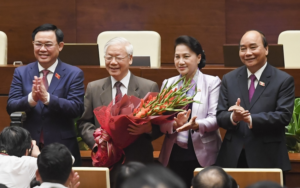 Miễn nhiệm Chủ tịch nước Nguyễn Phú Trọng