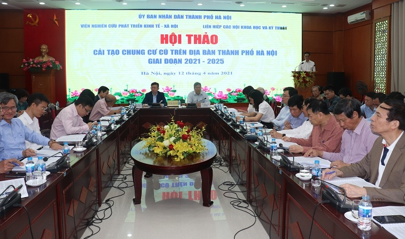 Cải tạo chung cư cũ tại Hà Nội: Cần nhiều giải pháp đồng bộ