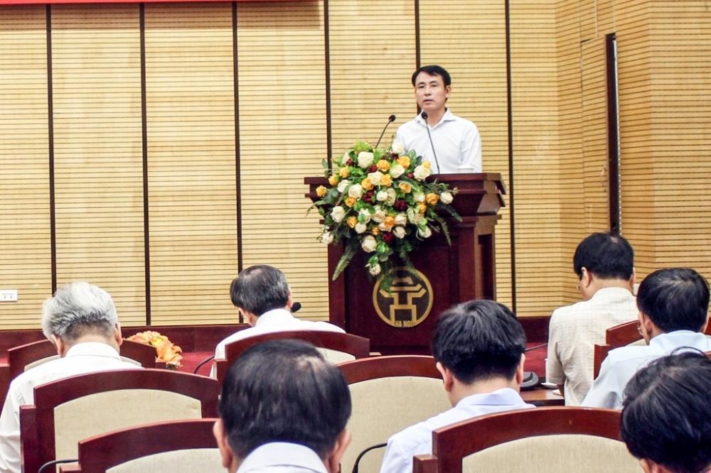 Phó Chủ tịch UBND TP Nguyễn Trọng Đông phát biểu tại Hội nghị