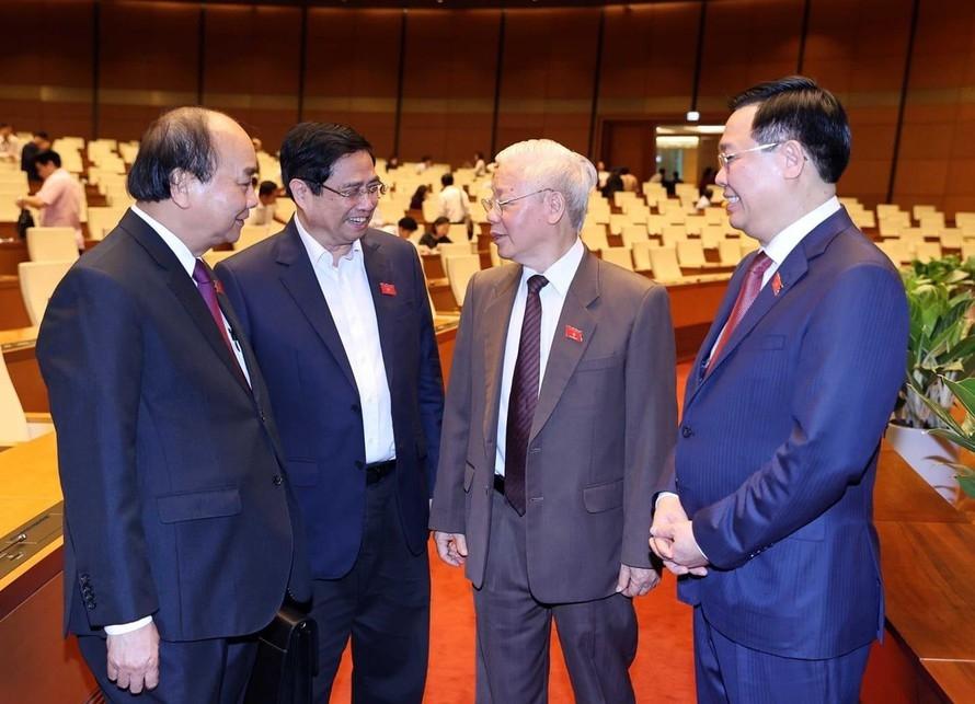 Tổng Bí thư ứng cử ĐBQH tại Hà Nội, Chủ tịch nước ứng cử ĐBQH tại TP HCM