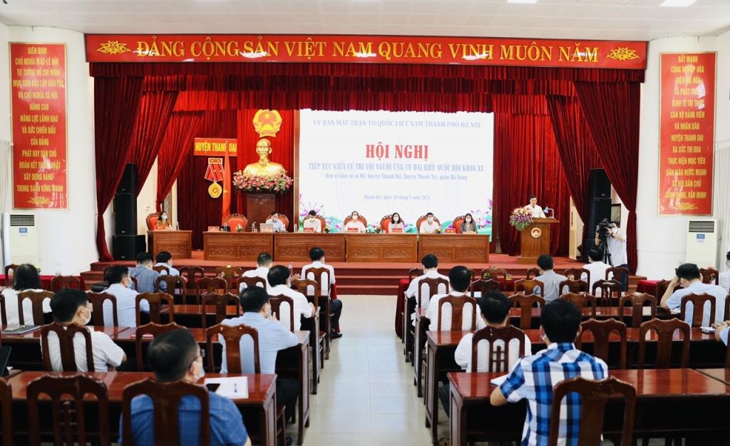 Cử tri huyện Thanh Oai kỳ vọng điều gì ở đại biểu Quốc hội khóa XV?