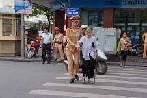 Tập huấn kỹ năng giao tiếp, ứng xử với người dân cho CSGT Hà Nội