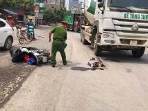 Hà Nội: Thí sinh thi THPT Quốc gia bị xe bồn tông trên cầu vượt An Khánh
