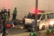 Hà Nội: Tai nạn trong đêm tại hầm Kim Liên, người đàn ông trọng thương