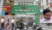 cong an phuong khuong mai moi dai dien vien tham my gangnam k beauty len lam viec