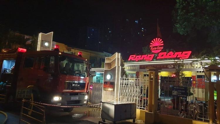 cong an ha noi thong tin ve vu chay lon tai cong ty rang dong