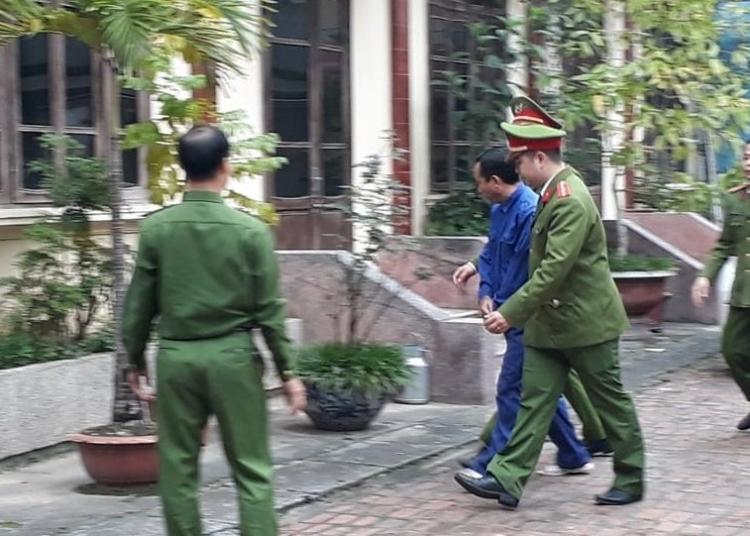 khoi to can bo trai tam giam cong an tinh thai binh