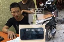 Khởi tố lái xe ôm gây loạt vụ cướp giật trên phố Hà Nội