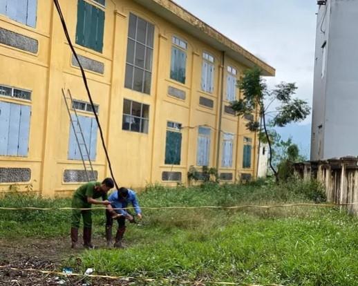 Đau lòng học sinh lớp 2 bị điện giật chết tại trường