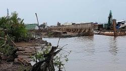 TP HCM: Lộ nhiều sai phạm từ sự cố sạt lở kè Tắc Sông Chà