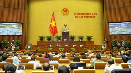 Kỳ họp thứ nhất - Quốc hội khóa XV