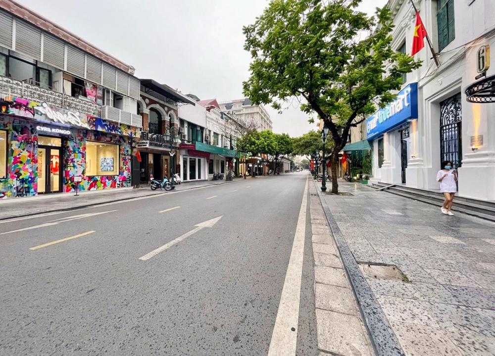 Từ 6h ngày 24.7, Hà Nội áp dụng giãn cách theo Chỉ thị 16.