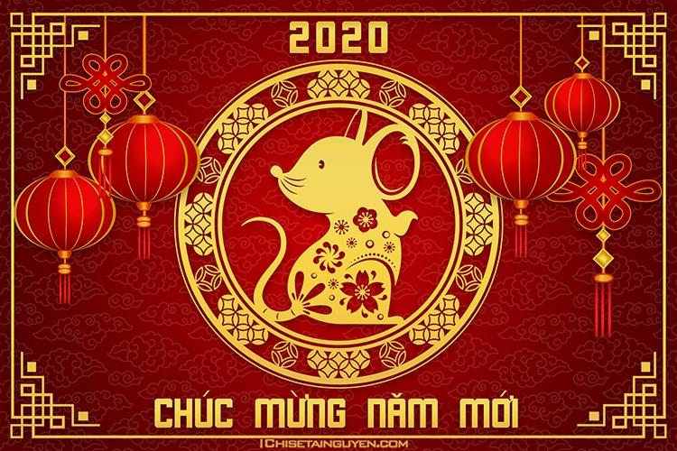 tong hop nhung hinh nen dep chuc mung nam moi 2020