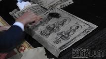 Thưởng lãm và trải nghiệm cách dùng Mộc bản cổ nhất thế giới tại chùa Bổ Đà