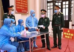 Bắc Ninh: Lấy mẫu xét nghiệm Covid-19 đối với công nhân sau kỳ nghỉ Tết