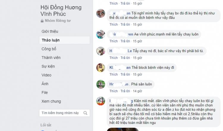 cong dong mang doi tay chay benh vien thu cuc