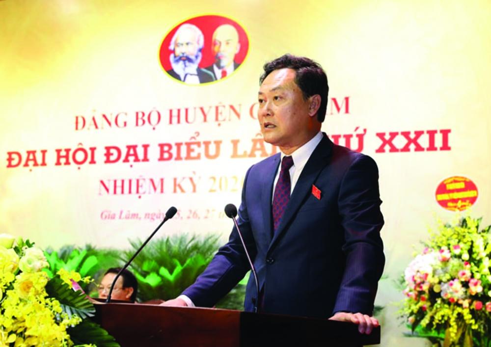 Huyện Gia Lâm (Hà Nội):  Tập trung nguồn lực. sẵn sàng trở thành đô thị phía đông Thủ đô