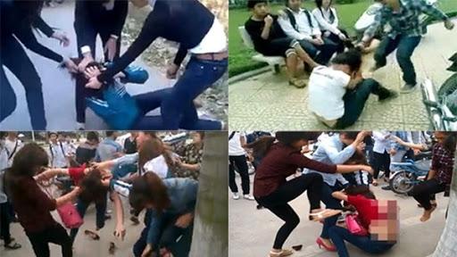 Nhức nhối tình trạng bạo lực ở tuổi thanh thiếu niên