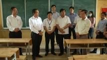 Lãnh đạo tỉnh Bắc Ninh kiểm tra công tác cho học sinh THPT trở lại trường