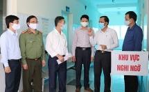 Phó Chủ tịch UBND tỉnh Bắc Ninh kiểm tra công tác phòng chống Covid-19 tại Yên Phong
