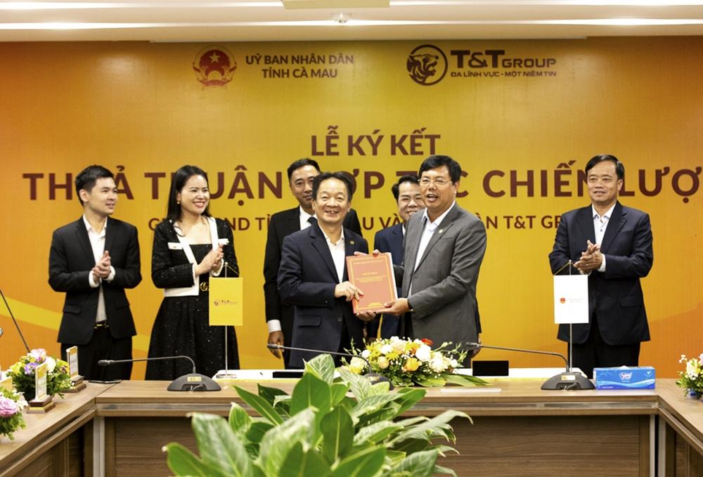 Tập đoàn T&T hợp tác chiến lược với hai tỉnh Lào Cai và Cà Mau