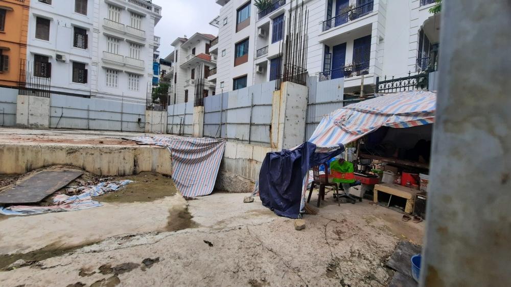 Đề xuất Bộ Xây dựng thanh tra công trình nhà 4 tầng hầm tại quận Ba Đình