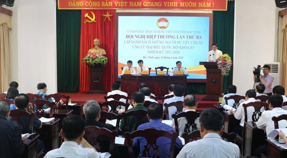 Bắc Ninh tổ chức Hội nghị hiệp thương lần thứ 3