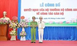 Đại tá Bùi Duy Hưng được bổ nhiệm làm Giám đốc Công an tỉnh Bắc Ninh