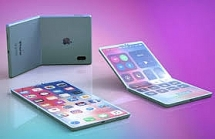 video y tuong ve iphone man hinh gap cua apple day an tuong