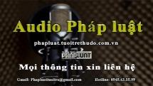 Audio Pháp luật ngày 11/5: Khởi tố 3 người đánh bác sĩ tại Nghệ An