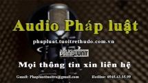 Audio Pháp luật ngày 13/5: Tạm giữ hành khách đi taxi tại Hà Nội vì mang theo ma túy