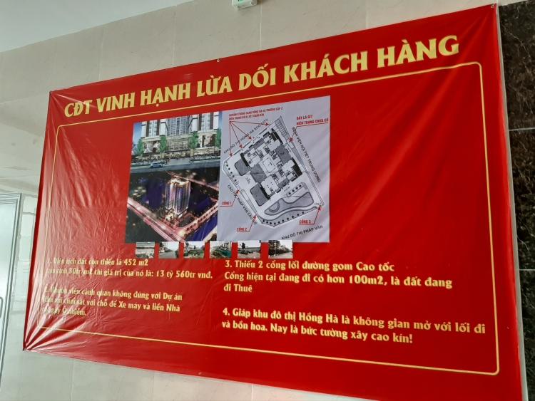 cu dan tu hiep plaza cang bang ron to cong ty vinh hanh lua doi khach hang