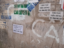 Rao vặt tín dụng đen bủa vây ngõ phố Thủ đô Hà Nội