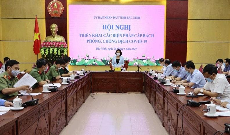 Bắc Ninh tạm dừng các hoạt động không thiết yếu để phòng chống dịch bệnh