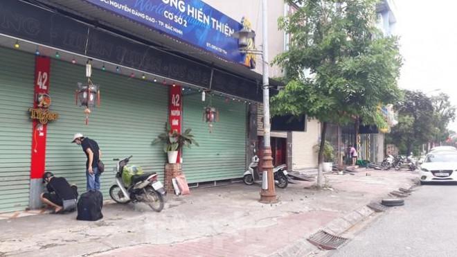 Bắc Ninh tạm dừng hoạt động đối với các nhà hàng từ 17h ngày 6/5