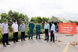 Phó Chủ tịch tỉnh Bắc Ninh kiểm tra công tác phòng, chống dịch tại huyện Lương Tài